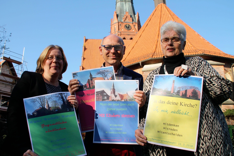 Kirchenvorstandswahlen am 11. März