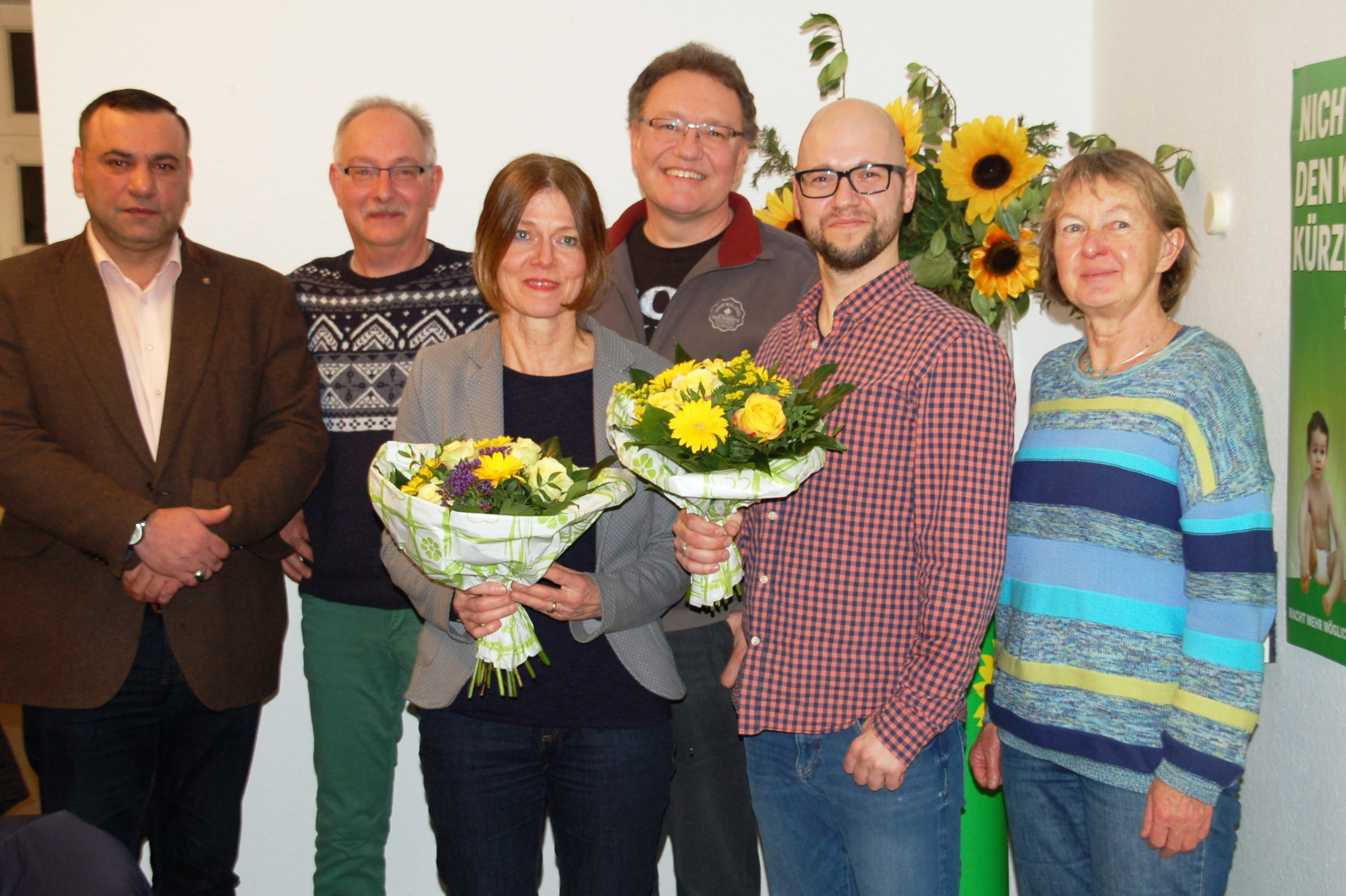 GRÜNE Nienburg wählen neuen Vorstand