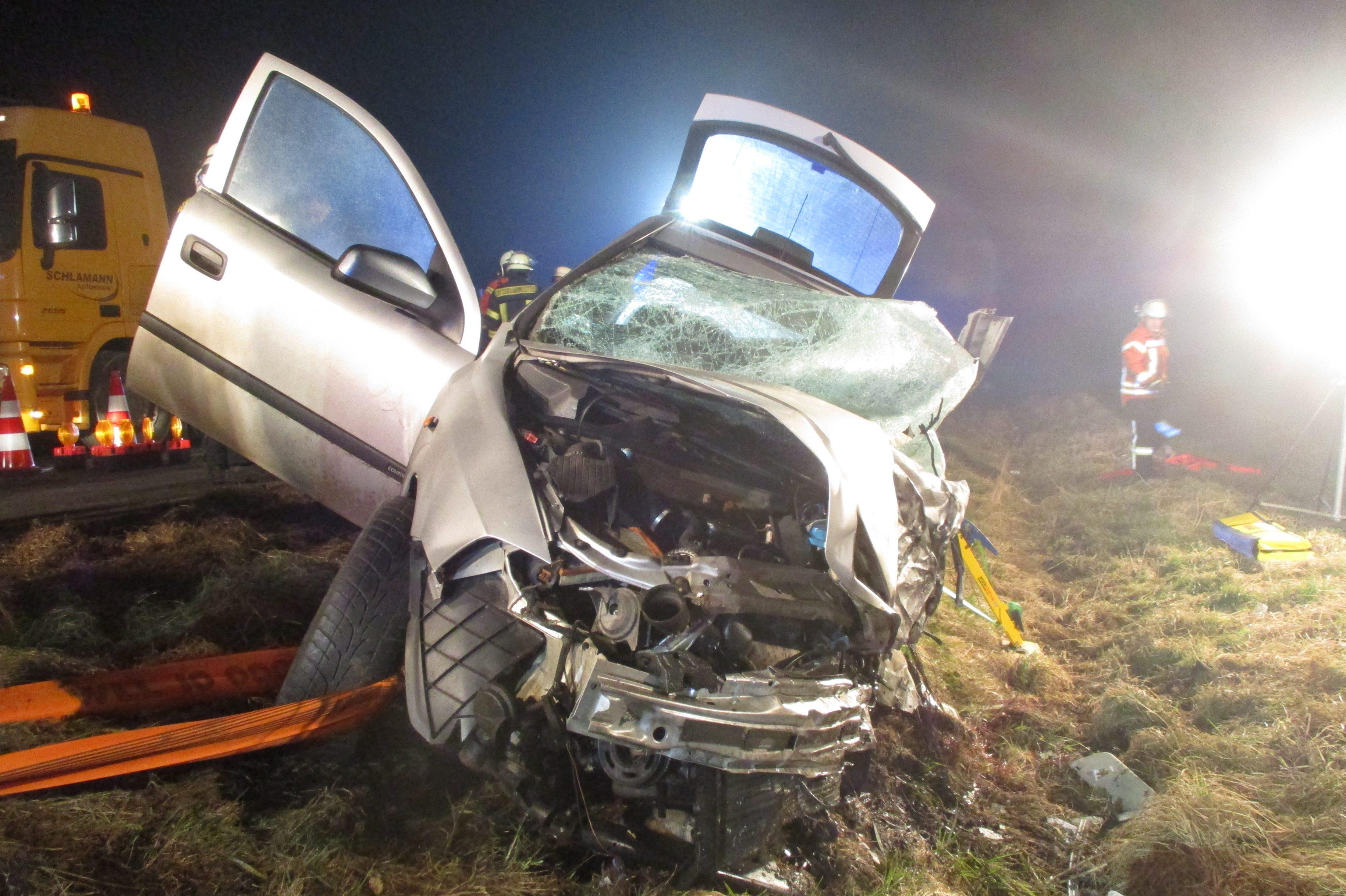 46-Jähriger bei Verkehrsunfall tödlich verletzt