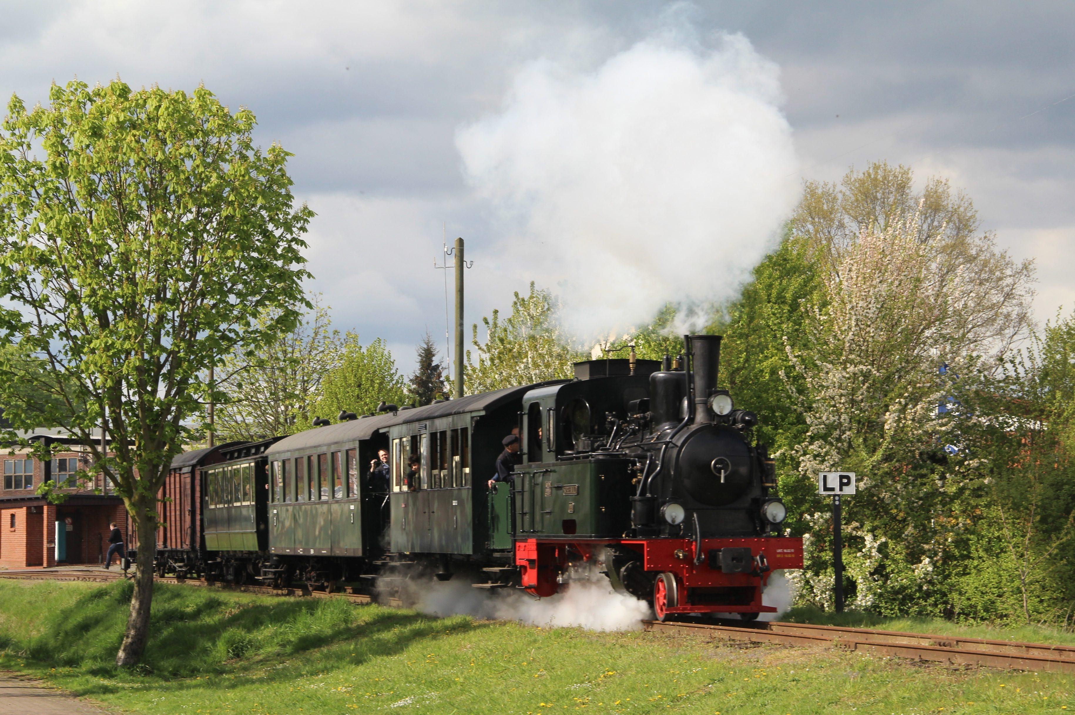 Saisonstart der Museums-Eisenbahn