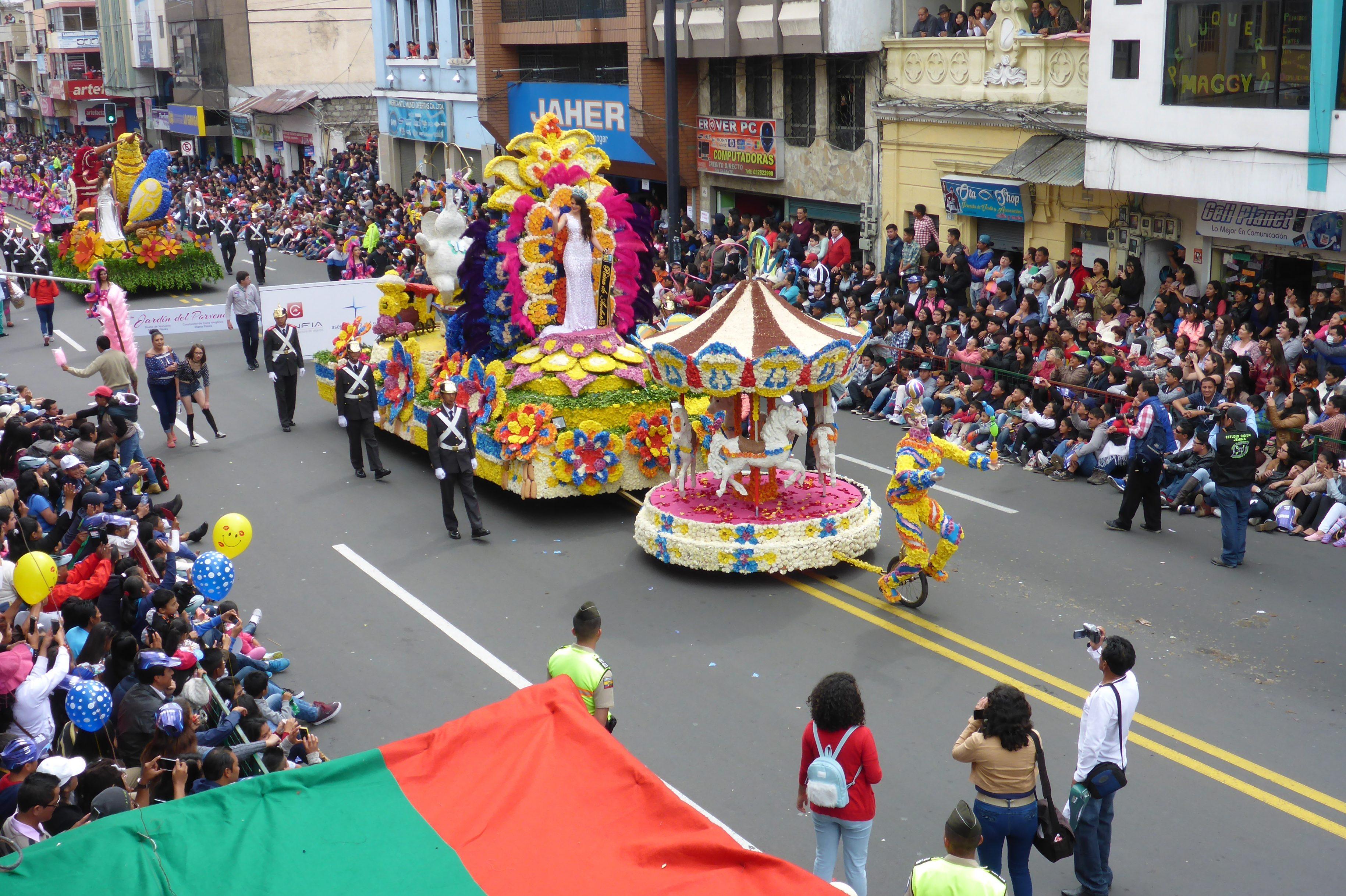 Der Gipfel der Schulzeit: als Gast in Ecuador