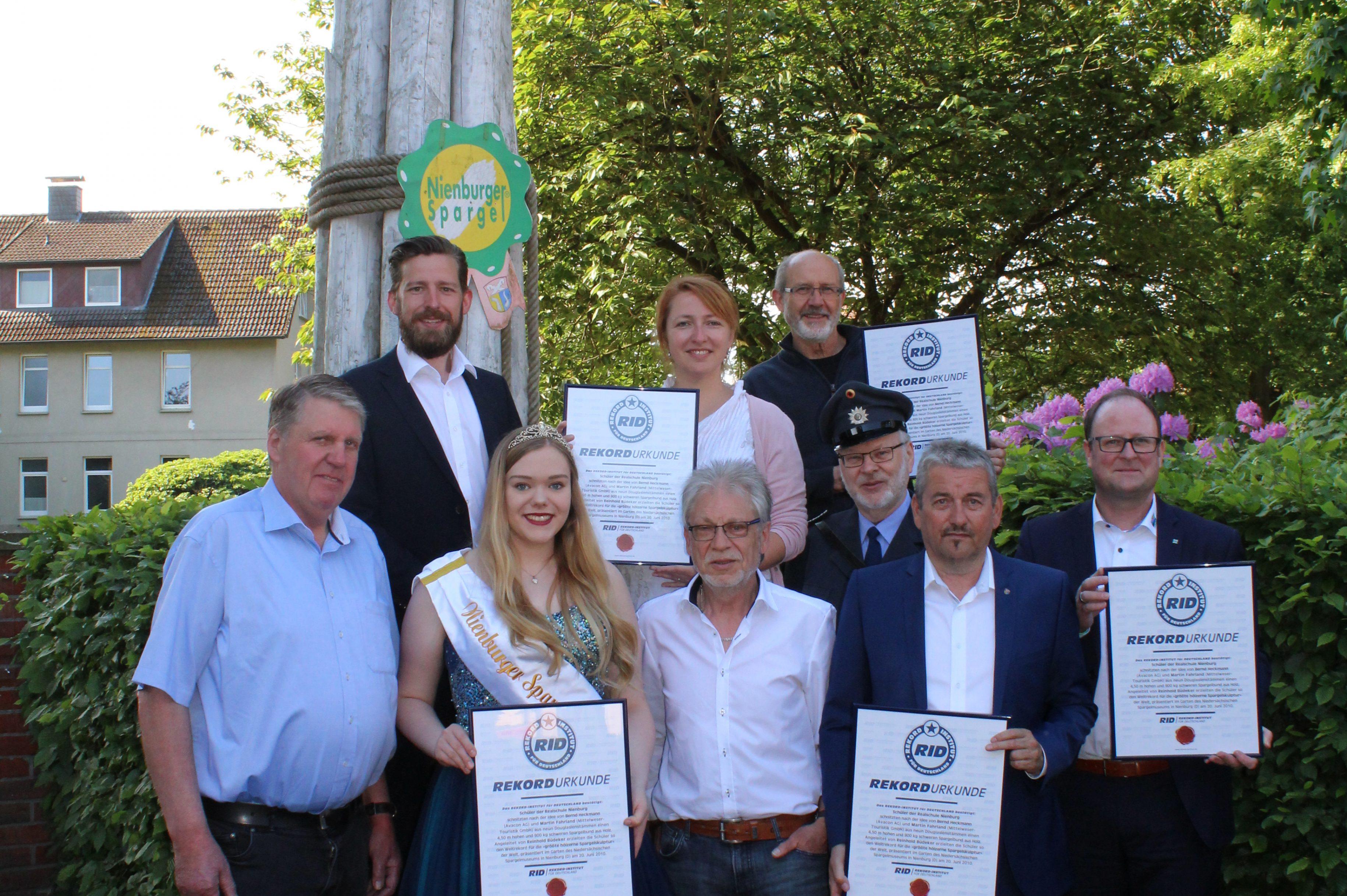 Weltrekord in Nienburg