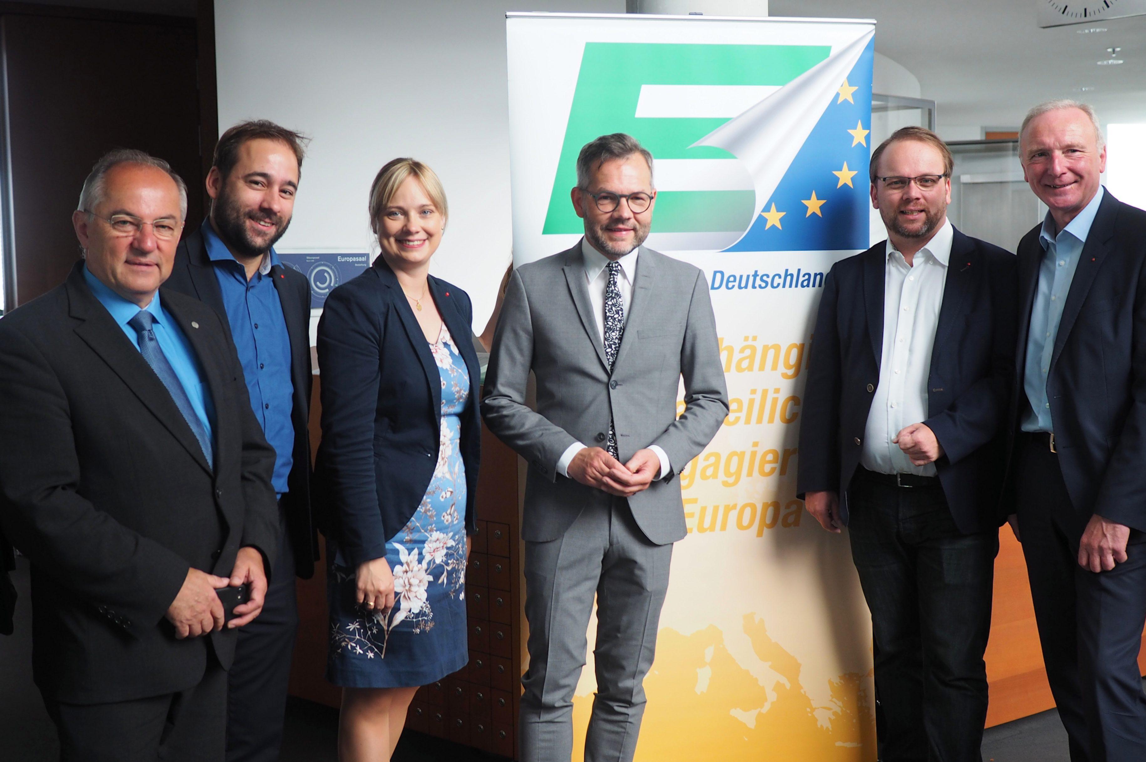Marja-Liisa Völlers arbeitet in der Parlamentariergruppe Europa- Union Deutschland mit