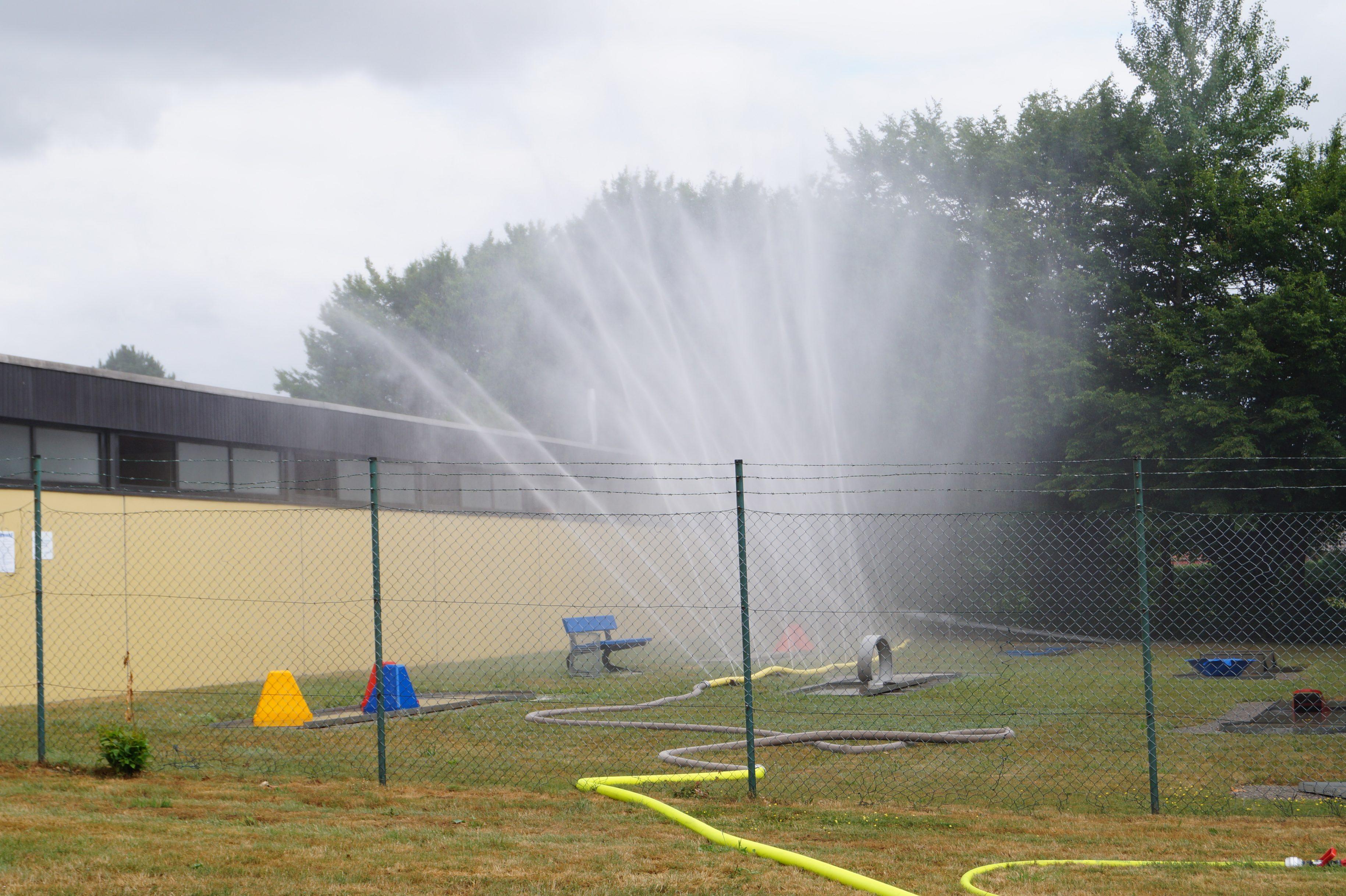 Chlorgas in Freibad Hoya ausgetreten