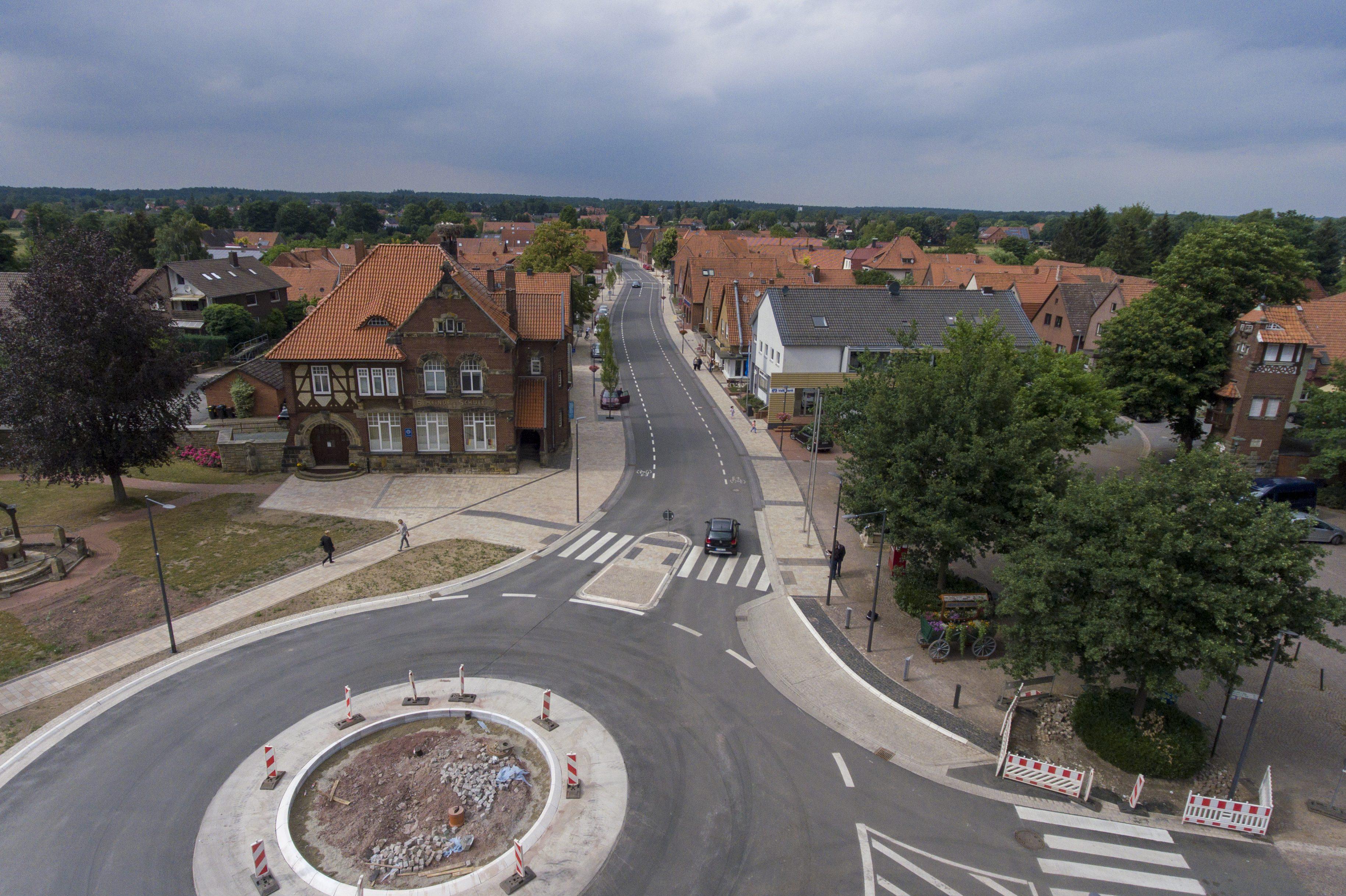 Stadtteilfest zum Abschluss der Bauarbeiten in der Ortsdurchfahrt Rehburg