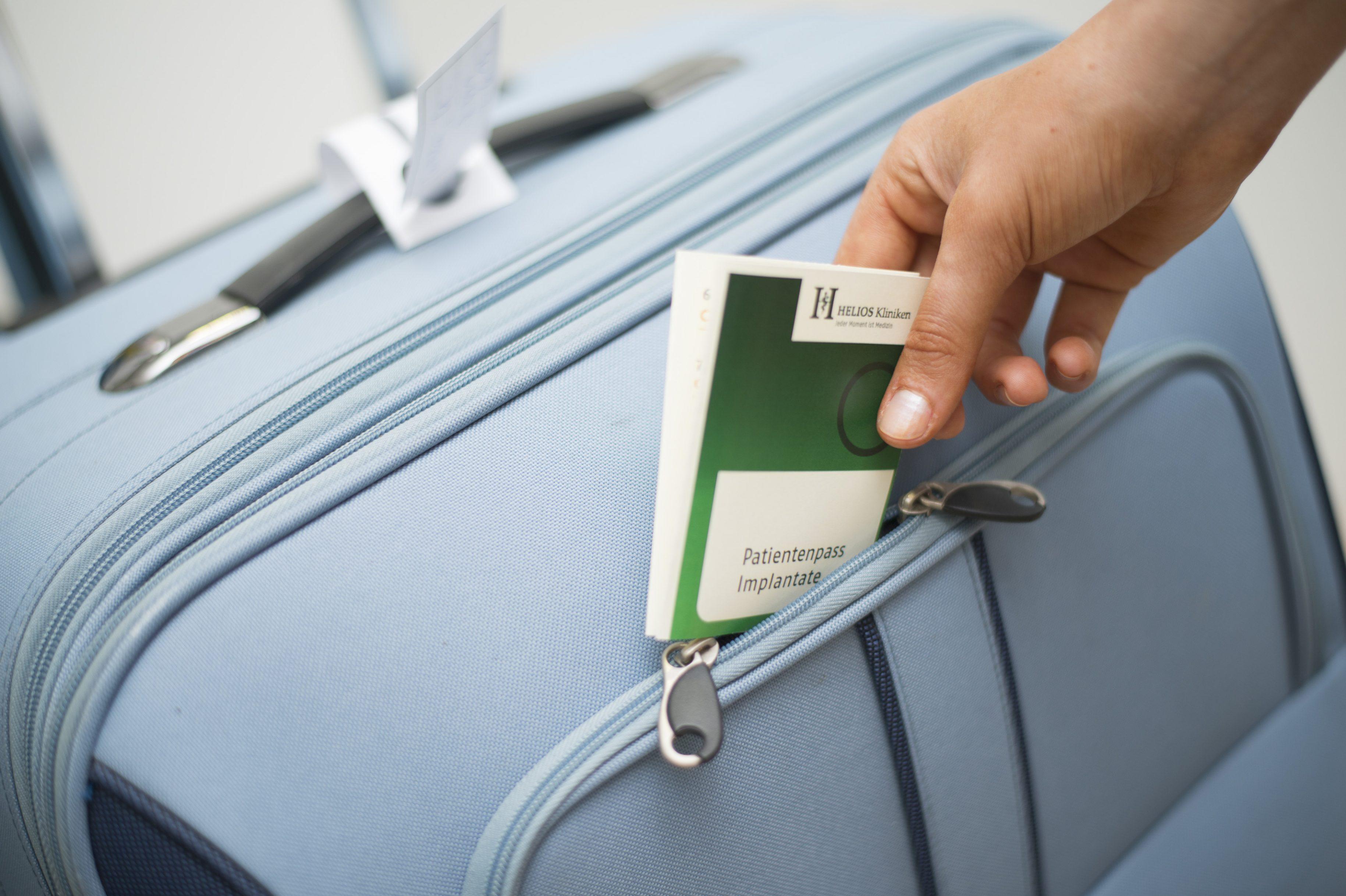 Alarm am Flughafen: Fliegen mit Metall im Körper