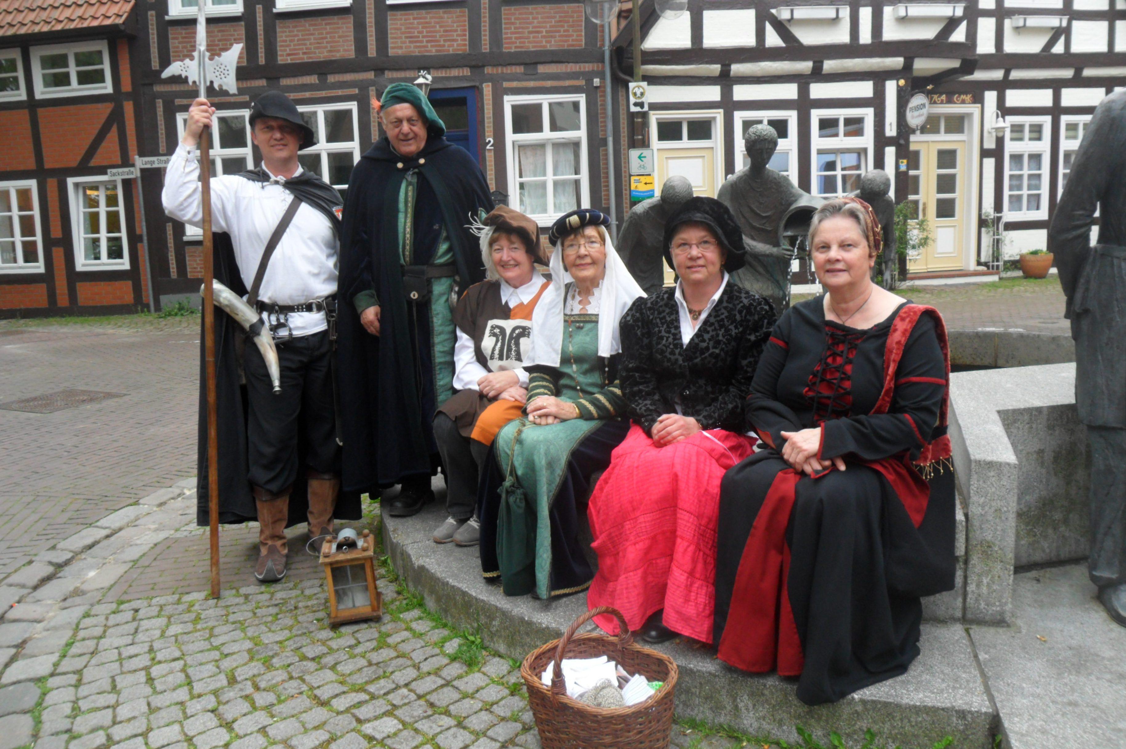 Bunter Strauß an Gästeführungen in der Mittelweser-Region