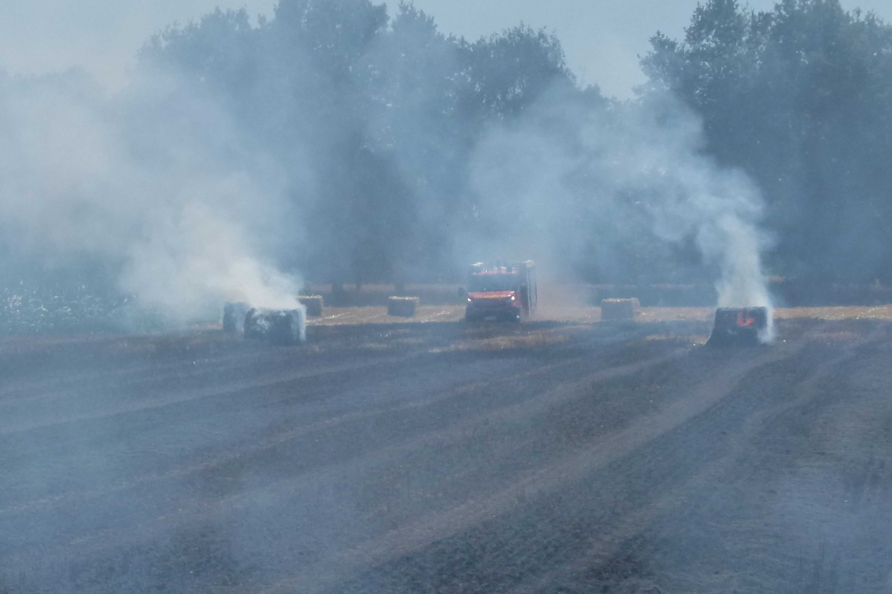 Flächenbrände in Nendorf und Umgebung