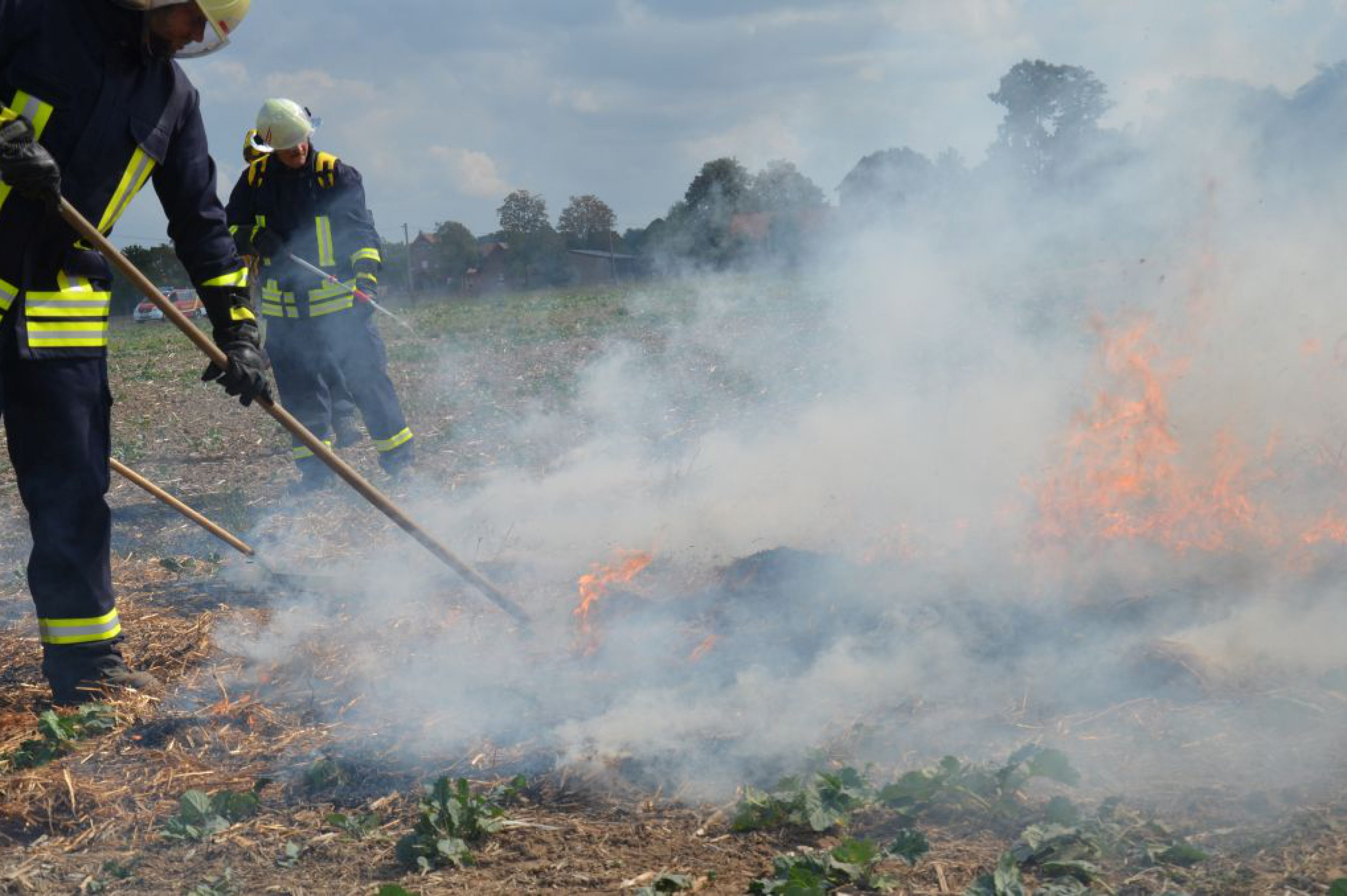 Feuerwehr warnt vor Waldbrandgefahr