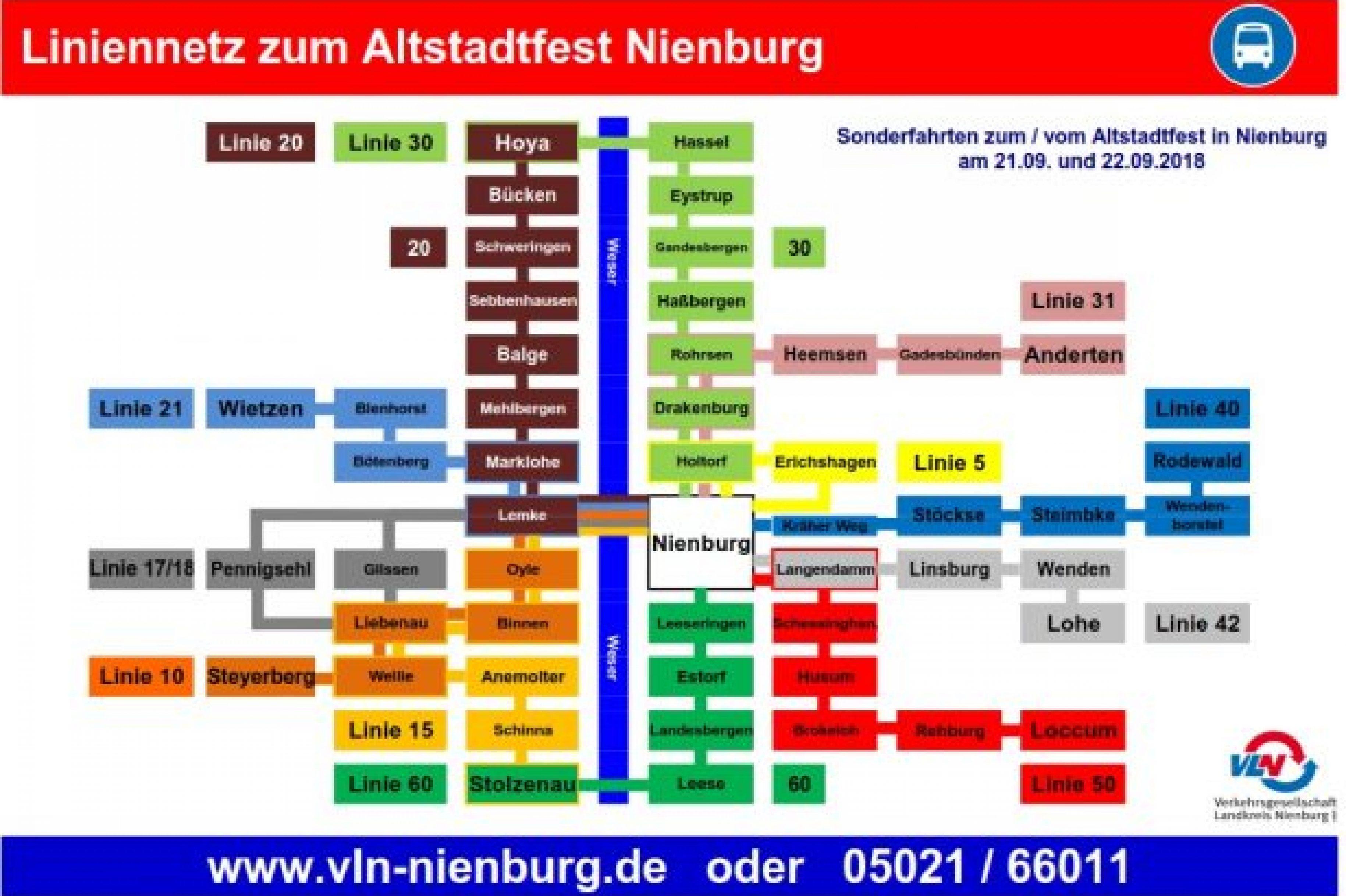 Mit den VLN Altstadtfest-Bussen unterwegs