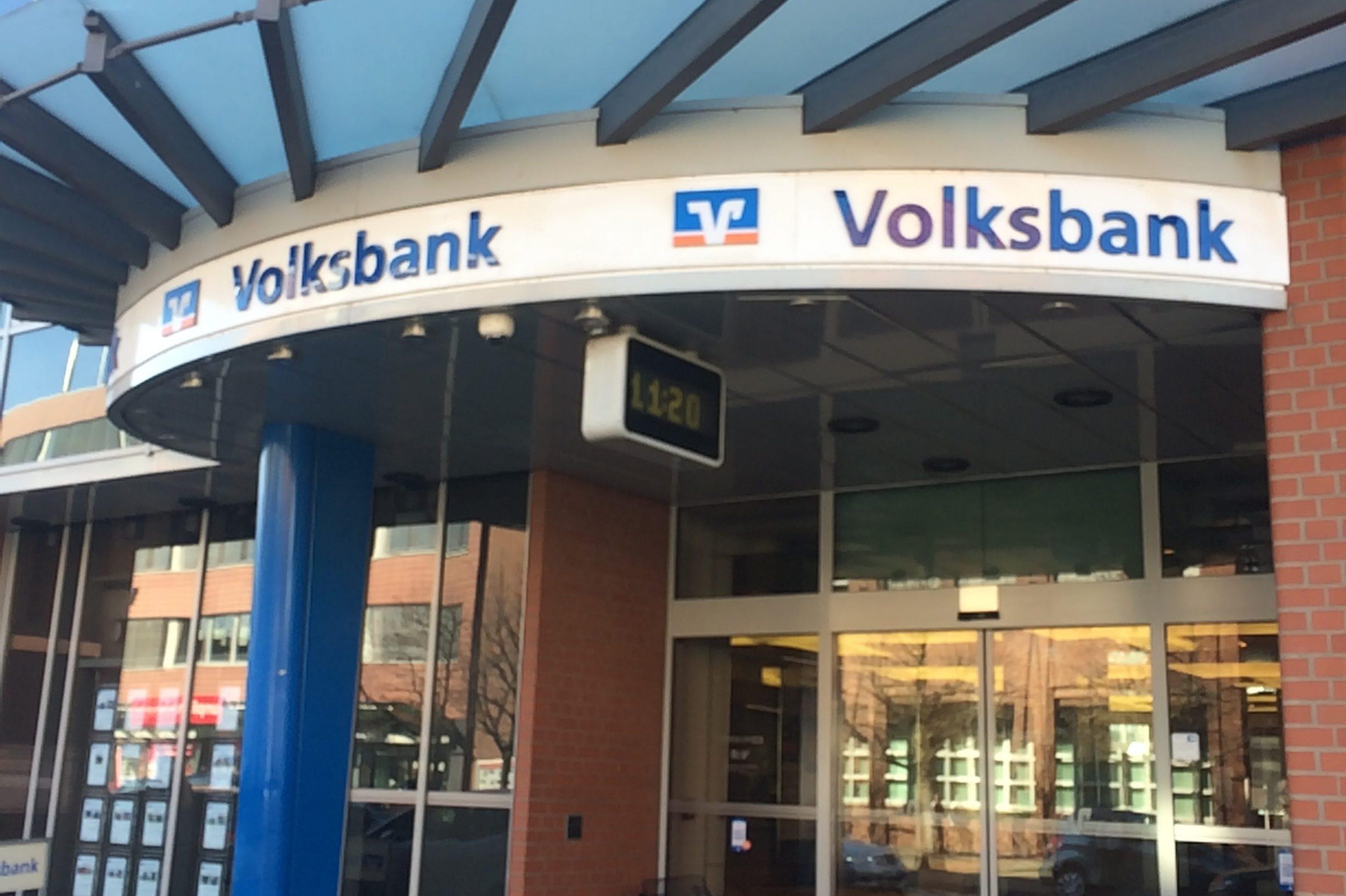 Volksbank schließt Filialen