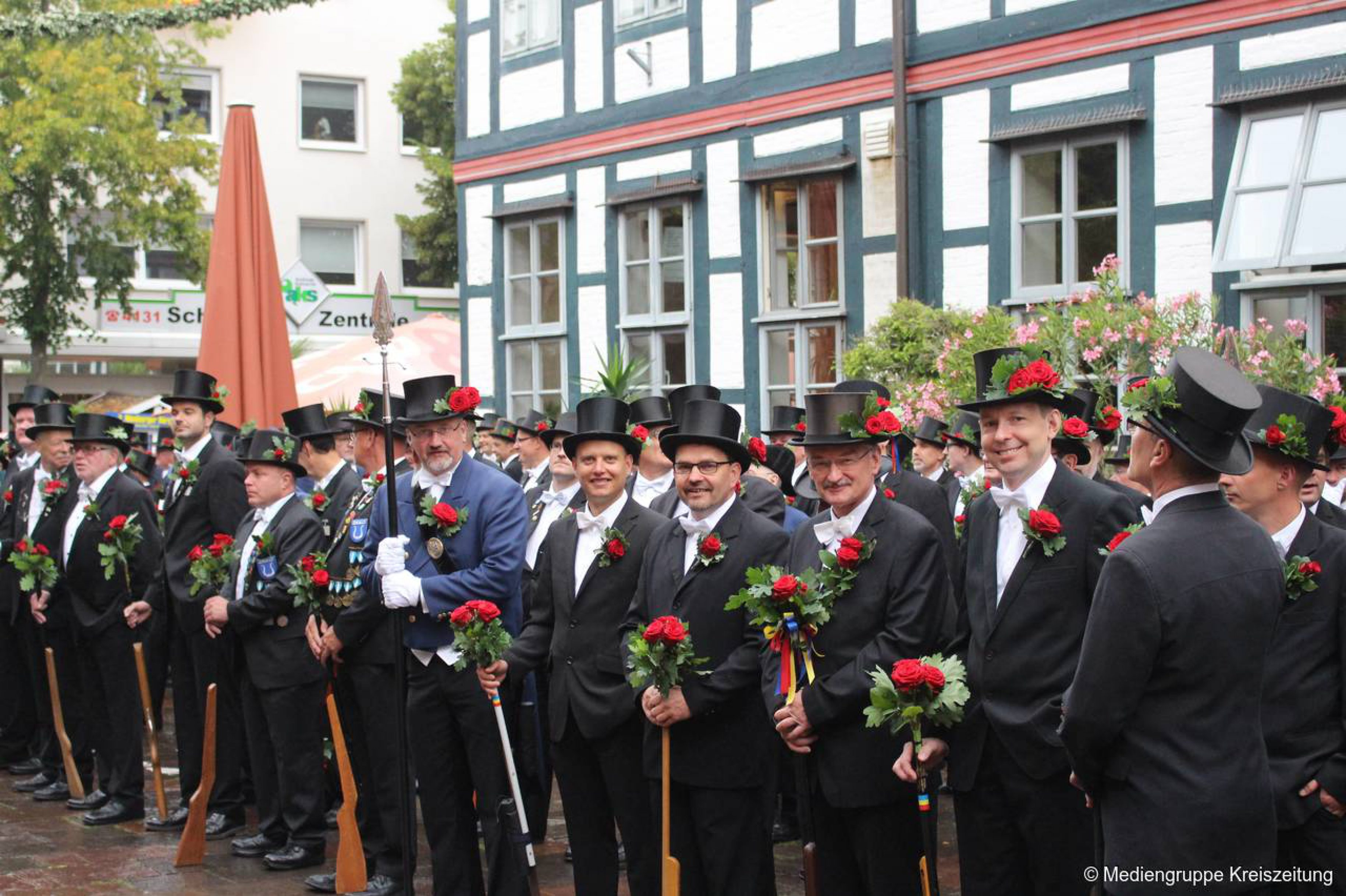 Das Stadtgespräch: Werner Siemann zum Scheibenschießen
